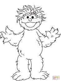 Click The Sesame Street Rosita Coloring Pages To View Printable