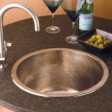 Bar Faucet Brushed Nickel by Redondo Grande Copper Bar Sink Cps251 Native Trails
