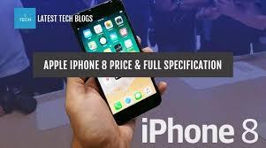 Apple iPhone 8 Prices Specs & Features
