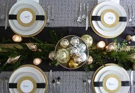 decoration table noel nappe verte s éclairer efficacement avec