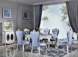italienische luxus stuhl set 4x stühle gruppe garnitur esszimmer sessel möbel