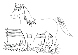 Spirit Horse Coloring Pages To Print Mustang And Rain Free