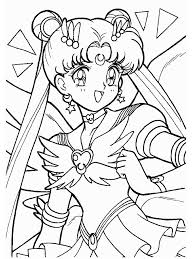 Sailor Moon Co Make Photo Gallery Coloring Pages