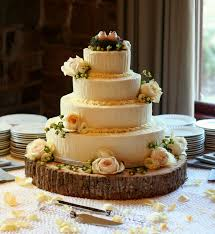 Simple Elegant Rustic Wedding Cakes