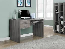 amazon com monarch specialties dark taupe reclaimed look computer