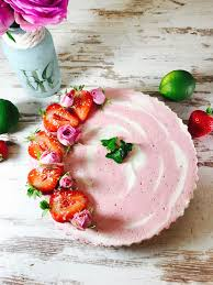 erdbeer quark mandel torte ohne backen torte ohne backen