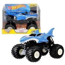 Amazon.com: Hot Wheels Year 2015 Monster Jam 1:24 Scale Die Cast ... Pictures Of Monster Trucks Save First Female Cadian Truck 2011 Jam Series Hot Wheels Wiki Fandom Powered By Wikia Shark Shock Diecast Vehicle 124 Scale Sonuva Digger Vs Wreak Carro Attack Road Rippers Youtube Remote Control Wwwtopsimagescom 164 2pack Vs Amazoncouk 2002 Original Grave With Pinewood Derby Car Wooden Thing