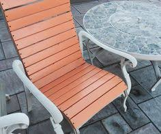 Vinyl Straps For Patio Chairs by Replace Vinyl Strap On Patio Furniture Home Repairs Pinterest