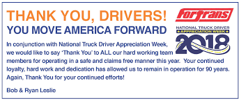 2018 National Truck Driver Appreciation Week - Fort Transportation Celebrating Drivers During Truck Driver Appreciation Week Sept 9 National Eagle Cadian On Twitter Its Enterprises Celebrates Shell Rotella Nz Trucking Tmaf To Launch Campaign Imagine Youtube Ats Game American Service One Transportation