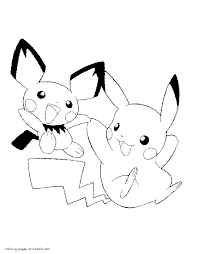 Printable Pokemon Coloring Pages Simply Print Out And Paint