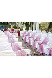 chaise jeanne habillage chaise mariage black tablecloths white chair covers