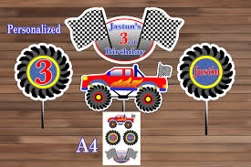 Monster Truck Birthday Decoration Monster Truck Centerpiece | Etsy Exquisite Monster Truck Cake Decorations Amazing Party Invitations 50 For Picture Design Images Alphabet Birthday Lookie Loo Monster Truck Cakes Cake Hunters 4th Centerpieces Oscargilabertecom Monster Sign Krown Kreations Bounce House Moonwalk Houston Sky High Rentals Amazoncom Supplies Jam 3d Party Pack Its Fun 4 Me 5th Clipart Cute Digital Little Silly Cre8tive Designs Inc