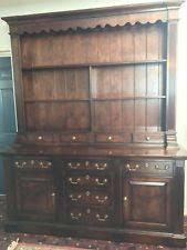 Henredon Walnut China Cabinet by Dark Wood Tone Antique China Cabinets 1950 Now Ebay