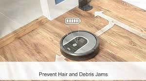 Roomba Hardwood Floors Pet Hair by Irobot Roomba 960 Vacuum Cleaning Robot Youtube