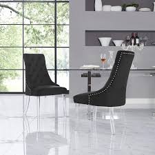 Velvet Acrylic Leg Dining Chair Set Of 2, Black Choosing Ding Tables For Your Small Space And Decorate It Lucite Room Chairs Kallekoponnet Parisian Elegance Interiordesign By Chan Minassian China Acrylic Crystalclear Ghost Truck Coffee Table Ella Acrylic Ding Chair Safavieh Modern With Casters Brilliant Fniture How To Mix Match Like A Boss 28 Pairs Vintage Pace 22 Ideas Styling Awesome Chair Fizz Transparent Gel Love South End Style