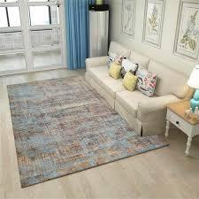 skandinavischen minimalistischen teppich blau braun rosa teppich schlafzimmer wohnzimmer bett decke küche bad boden matte