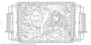 Game Of Thrones Coloring Book 5 1