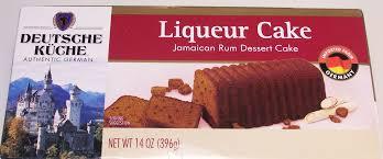ALDI – Deutsche Kuche Liqueur Cake – Rum – Food Review