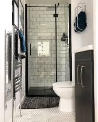 shower screen from plum narrow bathroom
