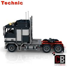 CUSTOMBRICKS.de - LEGO Technic Model Custombricks MOC Instruction