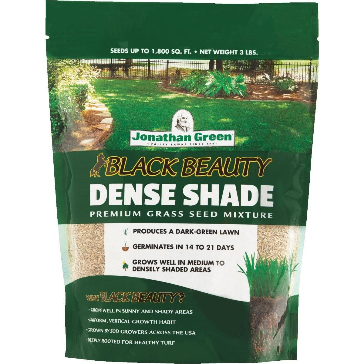 Jonathan Green Turf Dense Shade Grass Seed Mixture