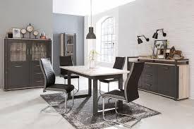 newroom esstisch robin ausziehbar 160 200 cm inkl tischplatte eiche sorrento vintage landhaus küchentisch speisetisch esszimmer kaufen