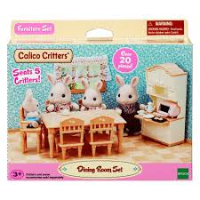 Calico Critters Dining Room Set | Olive And Adeline's Calico ... Sylvian Families Baby High Chair 5221 Epoch Calico Critters Baby Tree House Accessory Set Doll Cheap Find Deals On Line At Red Roof Cozy Cottage Complete With Figure And Accsories Seaside Tasure Fence Main Door Flora Berry Get Ready For Bed Furbanks Squirrel Girl Bamboo Panda Pizza Delivery Luxury Townhome Deluxe Nursery Cf1554 Sophies Love N Care