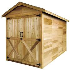 Shelterlogic Shed In A Box 6x6 by Cedarshed Rancher 6x6 Shed R66 Free Shipping