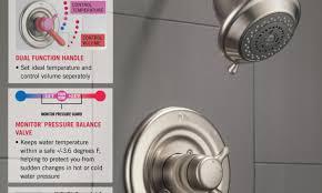 Kohler Purist Bath Faucet by Shower Kohler Purist Rite Temp Pressure Balancing Bath And