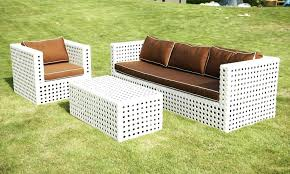 Relax With White Wicker Outdoor Furniture All Home Decorations