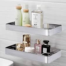 phz duschablage ohne bohren badezimmer regal wandregal