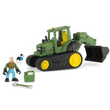 John Deere Tomy Gear Force Scoop Tractor Vehicle W/ Farmer Dog - Toy ... John Deere Dump Truck Wiring Diagrams Amazoncom Tonka Toughest Mighty Toys Games Kid Concepts 38cm Big Scoop Excavator Shop For Toys Instore And Online 21 Ertl Inch Steel Tbek350 Bed Pre 53cm Catchcomau Walmartcom Monster Treads Shake Sounds Trucks Trains Semis Theisens Home Auto Ertl Farm 116 Peterbilt 367 Straight Online Kg Electronic Toy Best Deer Photos Waterallianceorg