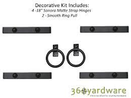 Southwest Style Decorative Garage Door Kit