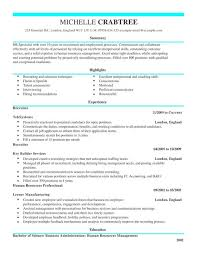 Recruiter CV Template