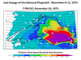 What Time Did The Edmund Fitzgerald Sank by 42 Years Ago A Violent Storm Sank The Edmund Fitzgerald In Lake