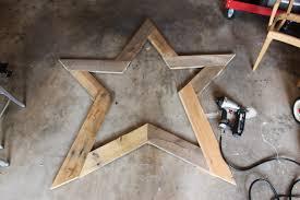 Great Big Barn Wood Star