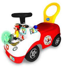 100 Fire Truck Ride On Amazoncom Kiddieland Toys Limited Disney Mickey Activity