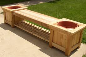 Puzzle Plans Free Woodworking Plan Pallet Bench Seat And Planter
