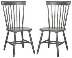 Safavieh Parker Spindle Dining Chair - Set Of 2 | Windsor ... Home Decor Tempting Windsor Ding Chairs Cool Dr Dimes Genuine Farmhouse Farm Table South American Walnut 180758555 Lovely Made Solid Maple Set Of 4 Back Antique Stiback Chairs And Table In Colonial The Best Ding You Can Buy Business Insider Senarai Harga Nordic Chair Classic Style Modern 2 Ethan Allen Impressions Solid Cherry Slat Back 246401 Ted Spindles Safavieh Parker Spindle Set Of New Haven