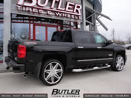 2014 Chevy Silverado with 24in Lexani Johnson II Wheels
