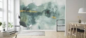 mein gewächshaus aquarell 3 tapete wohnzimmer aquarell