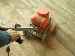 can you sand and refinish your floor with an orbital sander how