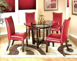Kohls Dining Chairs Upholstered Tufted Room Red Chair Dinning Kitchen