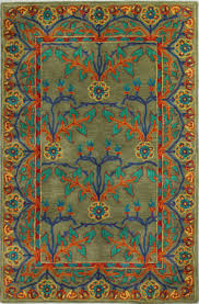 arts and crafts rug at Rug Studio