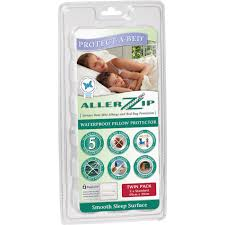 allerzip smooth pillow protectors by protect a bed commercial