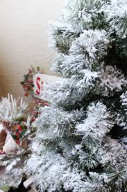 Snow Flocking For Christmas Trees by Christmas Excelentristmas Tree With Fake Snow Flocking To My