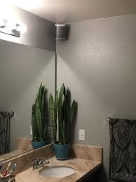 Sonos Ceiling Speaker Recommendation by Play 1 Mounted In My Bathroom Sonos