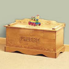 personalized toy chest kit diy woodcraft pattern 210 s imagine