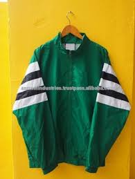 Streetwear 100 Polyester Sublimation Varsity Jacket Equipment Vintage Sports Trainer Green Windbreaker