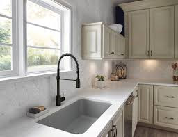 Delta Trinsic Kitchen Faucet Black by List Black Beauty Traditional Home